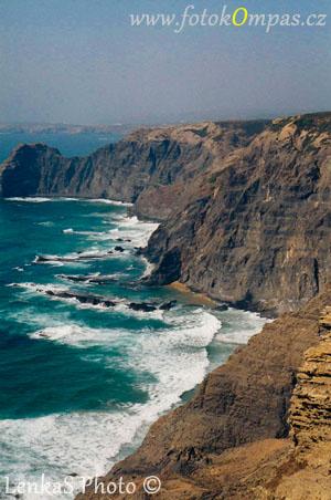 Algarve západní pobřeží