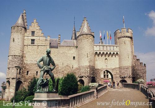 Památky Belgie Antverpy