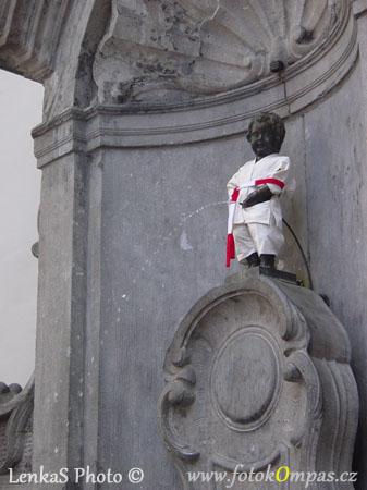 Brusel - čůrající chlapeček