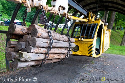 Důlní stroje v Ostravě Landeku
