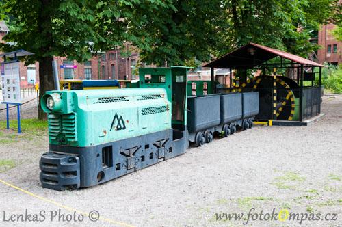 Důlní vlak Ostrava Landek
