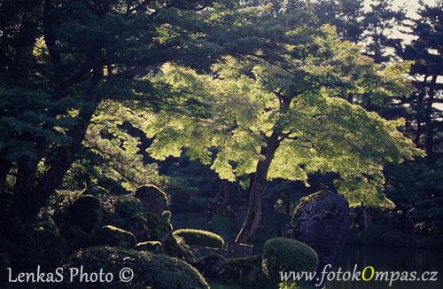 Cestopis z Japonska - zahrada Kenroku-en