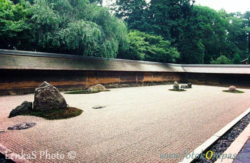 Cestopis z Japonska a Ryoan-ji v Kjótu