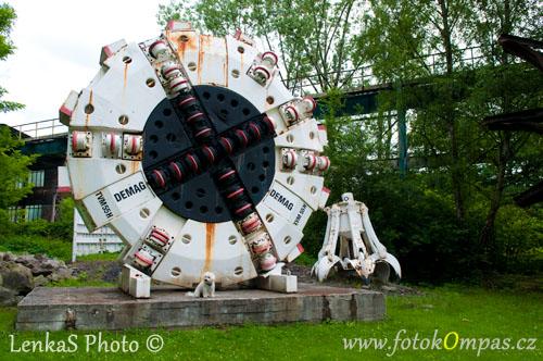 Ostrava Landek Park - venkovní expozice