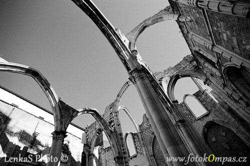 Lisabon památky Convento do Carmo