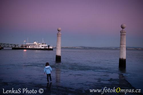 Lisabon a ústí Tejo