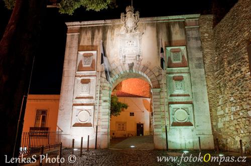 Lisabon hrad São Jorge