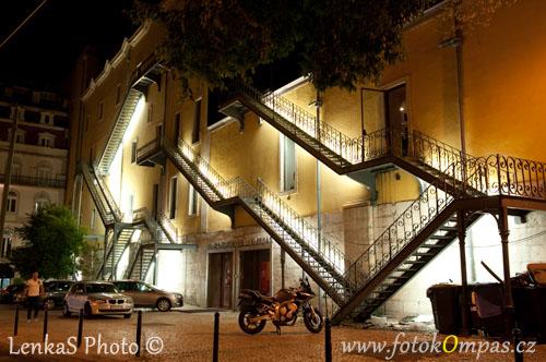 Lisabon v noci