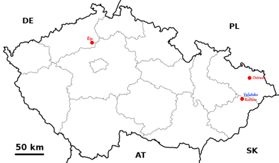Mapa výletů Fotokompas