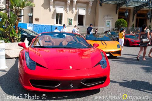 Monaco Monte Carlo a Ferrari