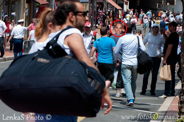 Velká cena Monaka a davy v ulicích