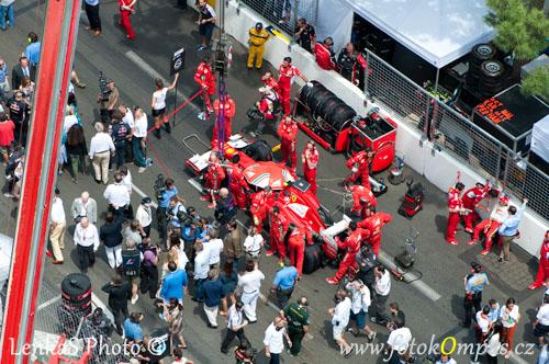 Velká cena Monaka před startem