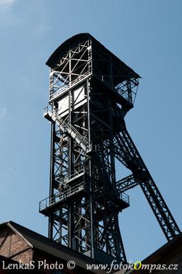 Ostrava Těžní věž dolu Hlubina
