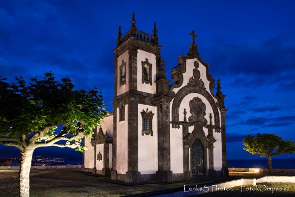 Ponta Delgada kostel