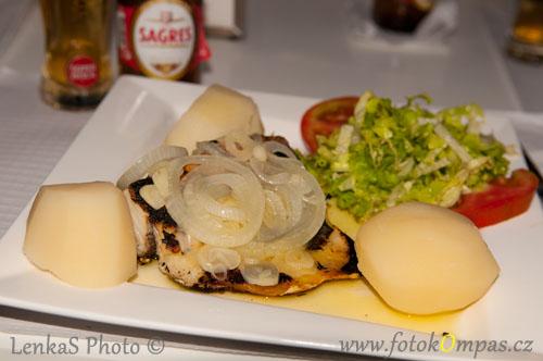 Portugalská kuchyně treska bacalhau