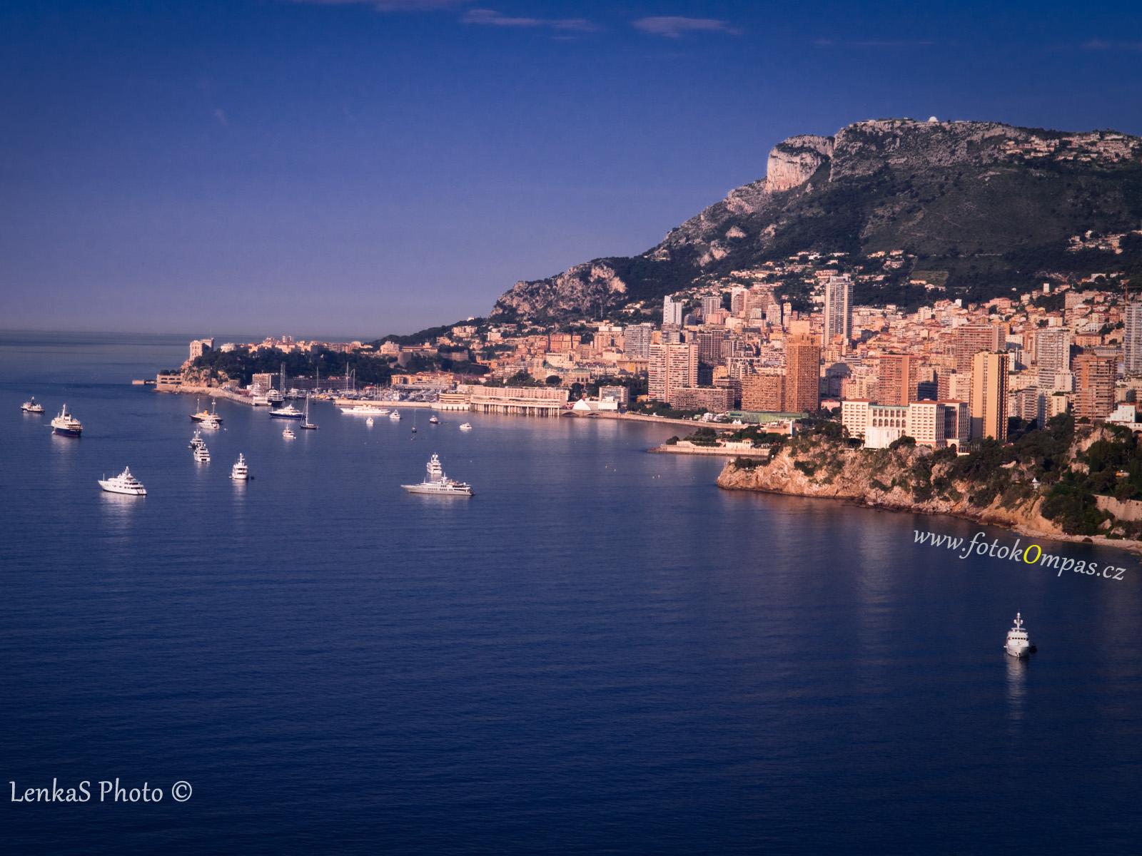 Tapeta na plochu Monako