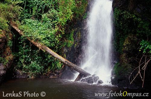 Vodopád Marangu na Kilimandžáru