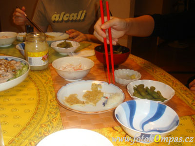 Zajímavosti v Japonsku - česká hostina