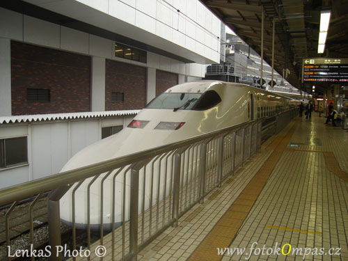 Cestopis z Japonska a vlak shinkansen