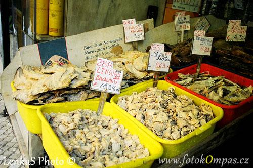 Zajímavosti portugalské kuchyně treska